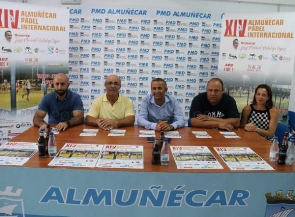 EL XIV TORNEO INTERNACIONAL DE PáDEL DE ALMUñéCAR ABS 8000 SE CELEBRARá DEL 14 AL 20 DE AGOSTO