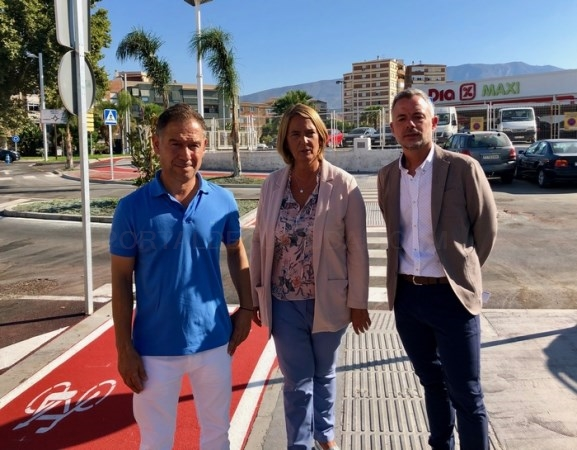 El Ayuntamiento da por concluida  la primera fase de la renovación integral del polígono del Vadillo