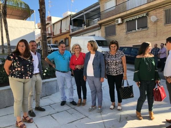 COMPLETADO EL ARREGLO DEL PARQUE 28 DE FEBRERO Y LA REFORMA INTEGRAL DEL PARQUE  DE CARLOS CANO EN LA CALLE ANCHA