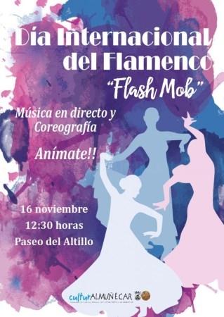 """ALMUñéCAR CELEBRARá ESTE SáBADO EL DíA INTERNACIONAL DE FLAMENCO CON UNA GRAN """"FLASH MOB"""""""
