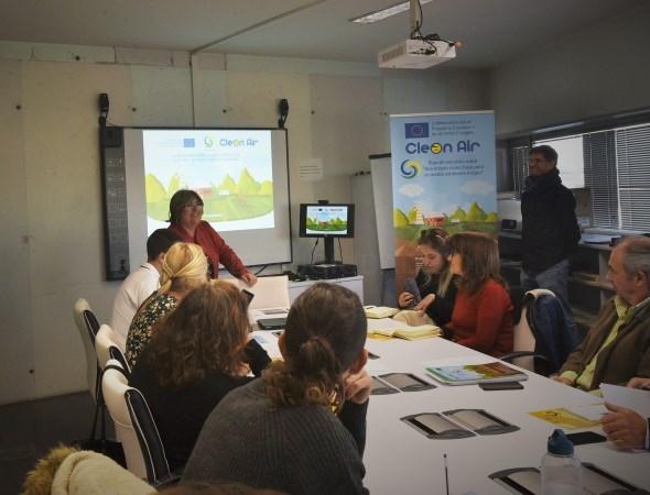 Un programa de Diputación genera material educativo para concienciar  sobre la calidad del aire en la provincia