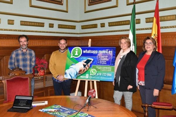 El ayuntamiento estrena un servicio de comunicación directa y personal al ciudadano a través de whatsapp