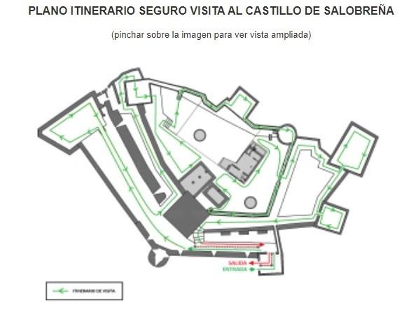 La Alcazaba de Salobreña reabre al público este viernes tras el cierre por el coronavirus