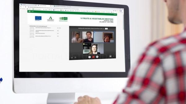 Extenda reúne a dieciocho empresas hortofrutícolas andaluzas con importadores europeos en una nueva misión inversa digital