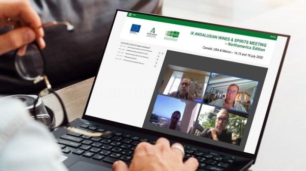 Extenda conecta al sector vitivinícola andaluz con operadores norteamericanos, a través de una nueva misión inversa digital