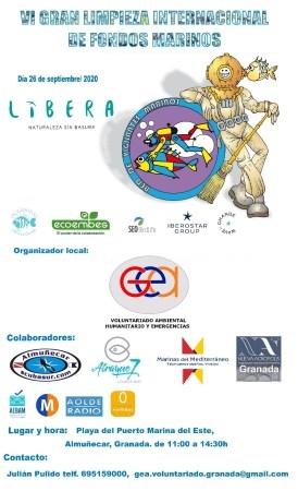 Marina del Este colabora un año más con la VI Limpieza Internacional de Fondos Marinos, premiada por el Ministerio de Fomento