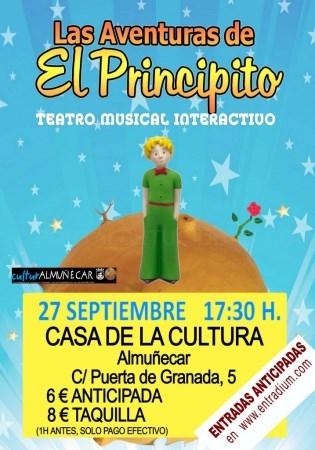 Almuñécar cierra la agenda cultural de septiembre con música y teatro en la Casa de la Cultura