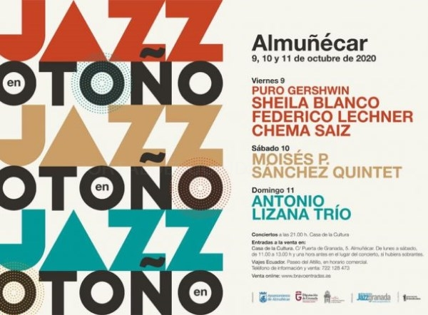 Almuñécar celebrará del 9 al 11 de octubre el I Festival Jazz en Otoño