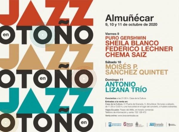 El Jazz y las artes plásticas destacan en la programación cultural de octubre en Almuñécar
