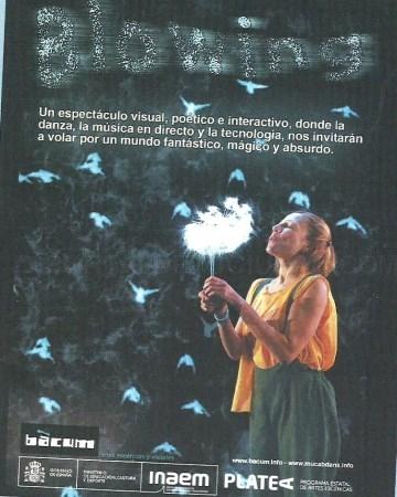 El teatro de 'Platea' vuelve este octubre a Salobreña con la obra musical 'Blowing'