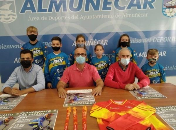 Almuñécar se prepara para acoger este fin de semana por primera vez un Campeonato de España de BMX