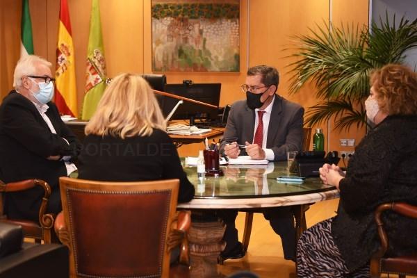 Reunión con el director del Festival de Música y Danza de Granada