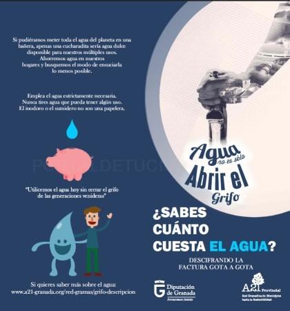 La Diputación lanza una campaña de concienciación en los municipios sobre el coste del agua