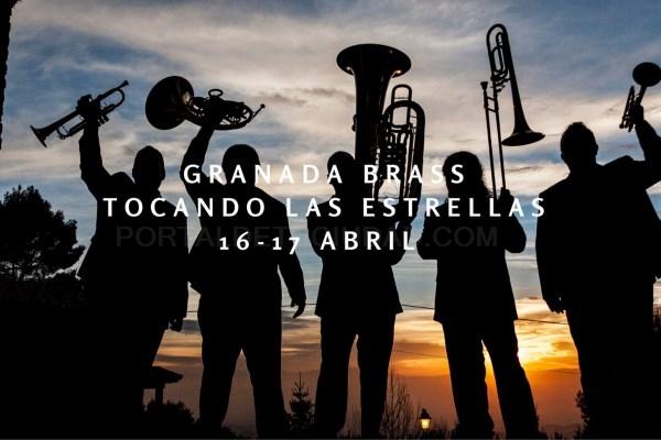 El Festival Tocando las Estrellas regresa con dos nuevos conciertos cargados de humor protagonizados por el Granada Brass.