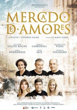 """Este viernes comienza el XIII Festival de Teatro Grecolatino de Almuñécar con la comedia La comedia """"Mercado de amores"""""""