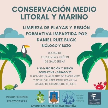 Salobreña lleva a cabo una jornada sobre conservación del medio litoral y marino