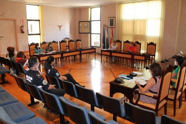 La comisión de seguimiento de víctimas de violencia de género analiza la situación de las mismas tras la pandemia