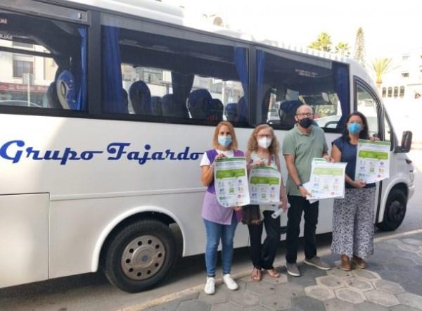 Almuñécar y Afavida se unen a la campaña de información y sensibilización del Alzheimer para informar sobre cómo actuar con personas con demencia