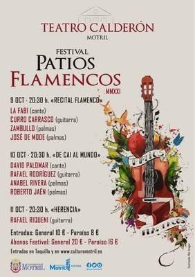 Se amplia la cartelera del Festival Patios Flamencos