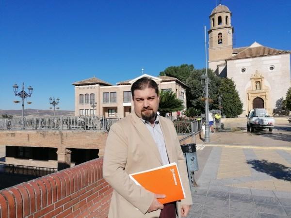 Ciudadanos entra en el gobierno del Ayuntamiento de Alhendín asumiendo las competencias de Mantenimiento, Servicios Sociales, Familias y Consumo