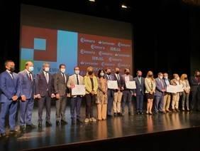 La alcaldesa destaca el valor de los emprendedores durante la V edición de la entrega del Premio Pyme