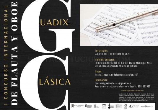 Arranca el el primer concurso internacional de Flauta y Oboe del Ciclo internacional de Música Guadix Clásica