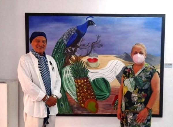 El artista donostiarra Juan Ilarraz lleva a cabo una exposición a beneficio de la AECC en La Galería de Almuñécar