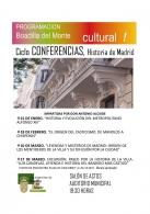 CONFERENCIAS SOBRE MADRID