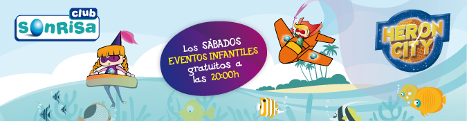 HERON CITY: EVENTOS INFANTILES GRATUITOS