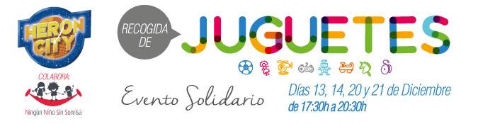 RECOGIDA DE JUGUETES EN HERON CITY