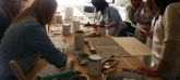 taller de muebles pintados en Las Rozas, telas y papeles pintados en Las Rozas