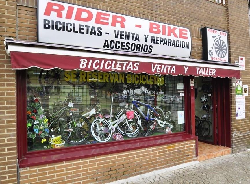 Rider Bike, venta y reparación de bicicletas en Boadilla, reparación de bicicletas en Boadilla