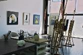 clases Victor Ceprian, exposicion pintura Las Rozas