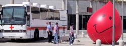 La unidad móvil de Cruz Roja estará este mes en Las Rozas con una nueva campaña de donación de sangre