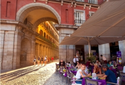 Madrid, récord de turistas en julio