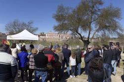 El Parque del Mirador del Nacedero será un espacio rústico-urbano integrado en el conjunto del Palacio