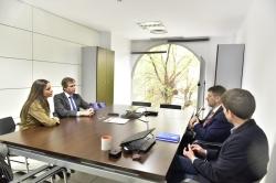 El Alcalde visita la sede nacional de la Asociación Telefónica para Asistencia a Minusválidos ubicada en Boadilla
