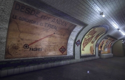 Visitas guiadas gratuitas al vestíbulo original de la estación de Pacífico (líneas 1 y 6), que permanecía cerrado desde 1966.
