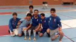 El joven majariego Luis Díaz se proclama campeón regional de esgrima.