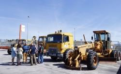 La comunidad de Madrid cede siete máquinas a la Mancomunidad Valle Norte del Lozoya.