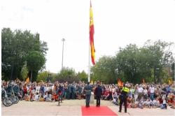 """De Foxá en el Homenaje a la Bandera: """"Levanto mi voz contra los golpistas que quieren romper la unidad de España"""""""
