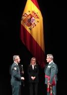 """Cifuentes destaca """"la solidaridad y el cariño de los españoles hacia la Guardia Civil"""""""