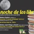 Las bibliotecas municipales celebrarán La Noche de los Libros con cuentacuentos y regalo de ejemplares.