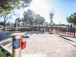 El parque de Castillo de Atienza se remodelará completamente e incluirá dos zonas de juegos infantiles.