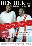 """Las Rozas Clásica y la comedia """"Ben Hur"""", protagonistas de la agenda cultural de Las Rozas."""