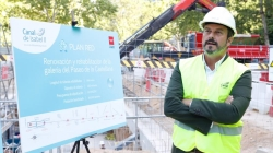 La Comunidad de Madrid, a través de Canal de Isabel II, renovará un total de 3.200 kilómetros de tuberías de la región.