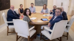 La Comunidad de Madrid renueva su compromiso de diálogo con los agentes sociales.
