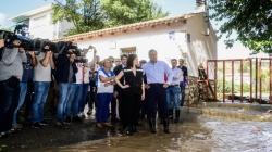 La Comunidad anuncia ayudas para paliar los efectos del fuerte temporal en el sureste de la región.