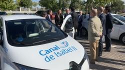La nueva flota de coches eléctricos de Canal de Isabel II reducirá en un 30% las emisiones