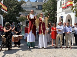 Majadahonda disfruta ya de su tradicional mercado romano en la Gran Vía de la ciudad.
